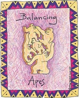 Balancing Apes - Natural (G)