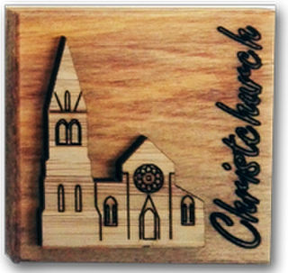 Magnet - Christchurch Cathedral Block
