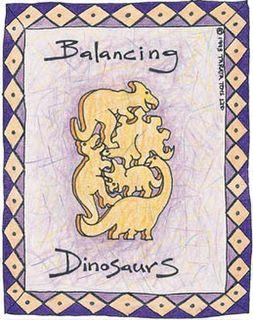 Balancing Dinosaurs - Natural (G)