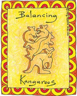 Balancing Kangaroos -  Natural (G)
