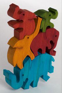 Balancing Elephants - Colour (G)