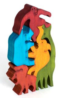 Balancing Jungle Animals - Colour (G)