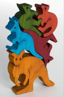 Balancing Kangaroos -  Colour (G)