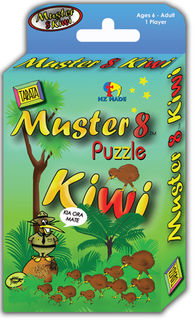 Muster 8 Kiwi Puzzle/Game