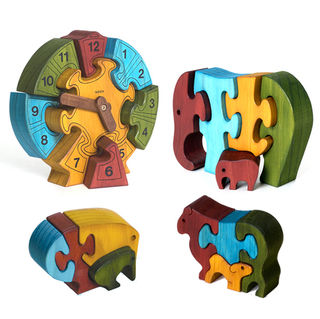 SAVE NOW! Worth over $110, this educational pack contains 4 puzzles to challenge younger children