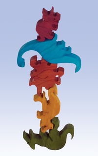 Balancing Dinosaurs -  Colour (G)