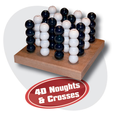 4D Noughts & Crosses Game
