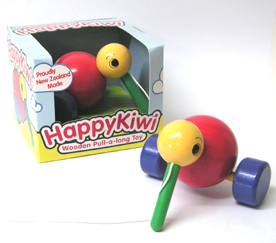 HAPPYKIWI PULL ALONG TOY