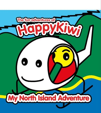HAPPYKIWI - MY NORTH IS ADVENTURE BOOK