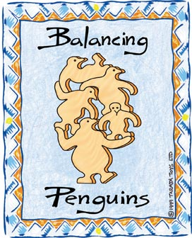 Balancing Penguins - Natural (G)
