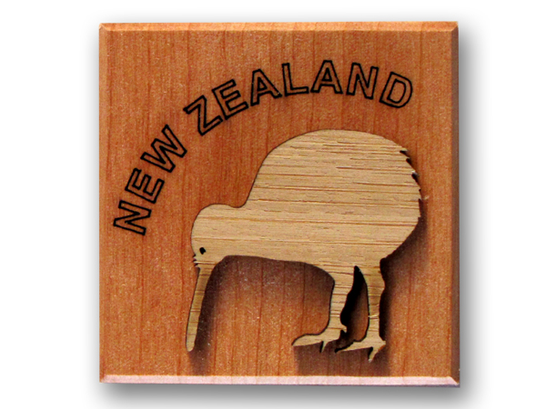 Kiwi/NZ Block Magnet