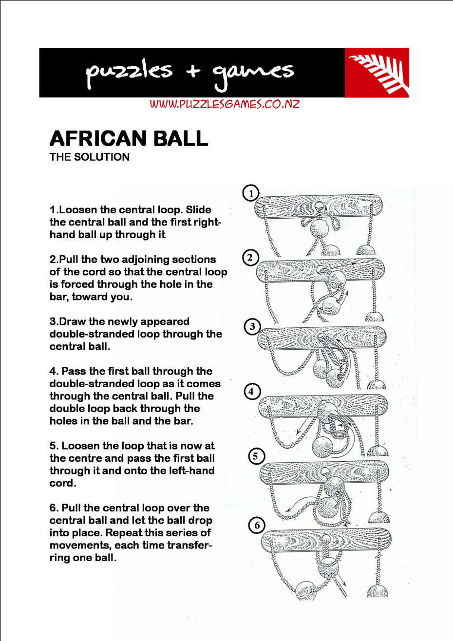 African Ball Puzzles Games Solutions Tarata Manufacturers Of