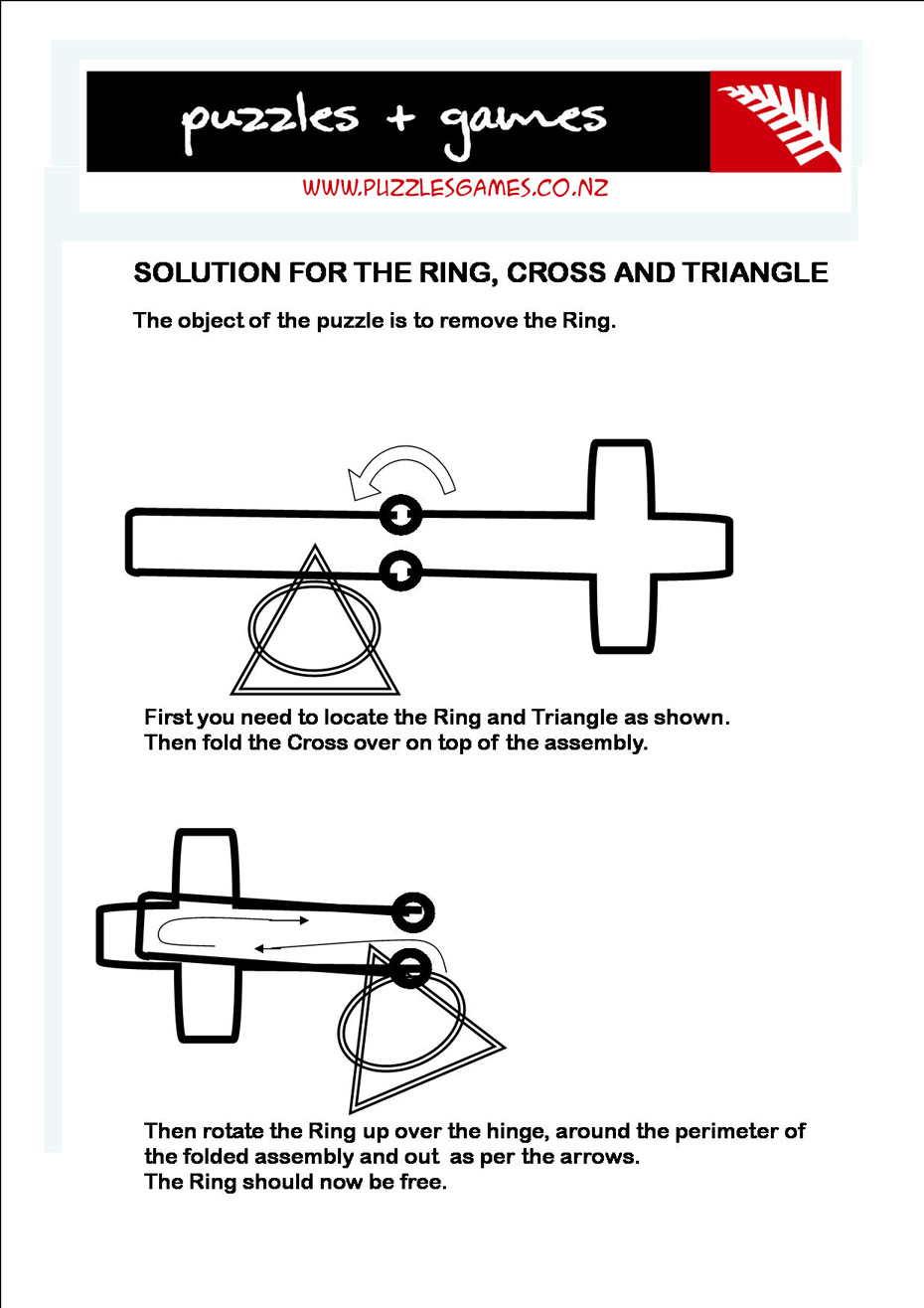 Ring Cross Triangle