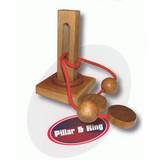 Pillar and Ring Puzzle
